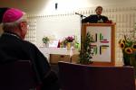 Pater Patzig hält seine Rede
